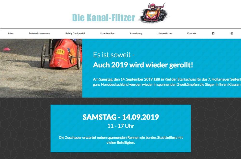 Website Kanal-Flitzer